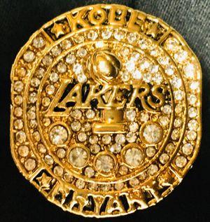 Kobe Bryant Black Mamba Lakers Championship Ring 🏀 for Sale in Cranston, RI