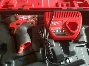 Milwaukee 2454-22 M12 FUEL Brushless 3/8-inch Cordless Impact Wrench Kit for Sale in Tampa, FL