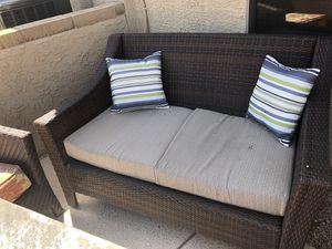 Wicker outdoor furniture for Sale in Phoenix, AZ