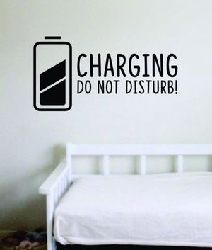 Wall Decal Home Decor Charging for Sale in Long Beach, CA