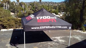 Black E-Z UP Eclipse II Professional 10 x 10 ft Instant Canopy Tent for Sale in Spring Valley, CA