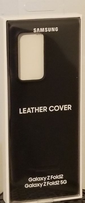 Samsung galaxy z fold 2 leather cover for Sale in Queens, NY