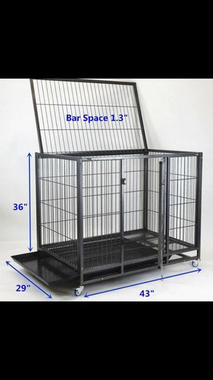Dog pet cage kennel size 43 large folding new in box 📦 for Sale in Ontario, CA