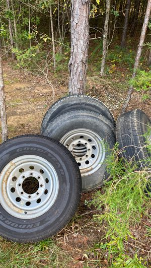 8 lug trailer tires for Sale in Indian Trail, NC