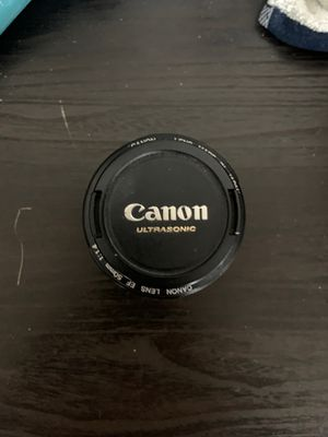 Canon UltraSonic Lens 50mm for Sale in Cleveland, OH