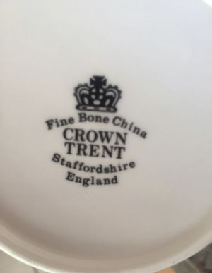 Crown Trent Staffordshire England mugs for Sale in Menifee, CA