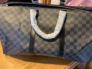 Luis Vuitton graphite bag for Sale in Elk Grove Village, IL