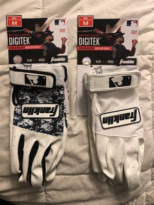 Franklin Digitek Adult Baseball Batting Gloves for Sale in Industry, CA