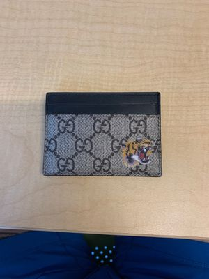 Gucci Tiger Print Card Case Wallet for Sale in Phoenix, AZ