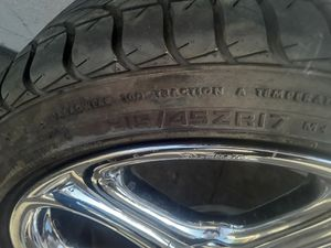 17 inch rims and tires set of 4 for Sale in Los Angeles, CA