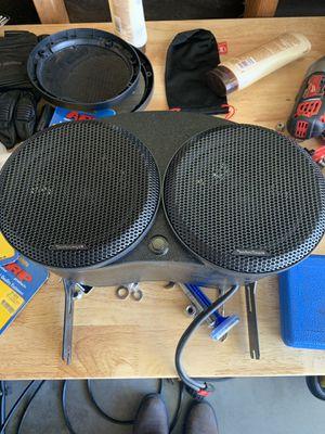 Plex audio with brand new marine grade speakers. for Sale in Menifee, CA