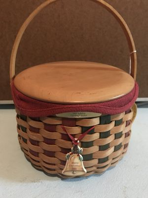 Longaberger Caroling Basket for Sale in Canton, MI