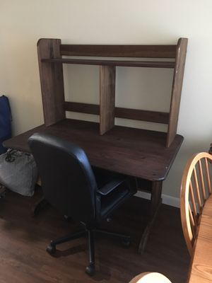 Desk with hutch for Sale in San Diego, CA