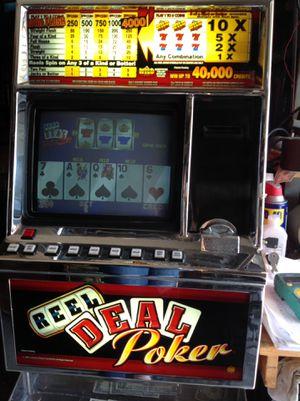 Reel deal poker machine working for Sale in Inglewood, CA