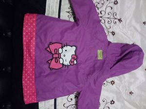 Purple & Pink Hello Kitty Raincoat for Sale in Orlando, FL