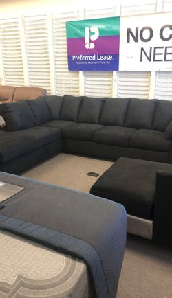 Black sectional for Sale in Granite City,  IL