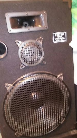 "Podium Pro Audio 15"" 3 way Speakers for Sale in Phoenix, AZ"