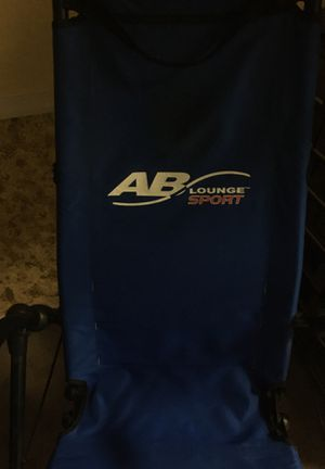 Ab lounger sport exercise machine for Sale in Boiling Springs, PA