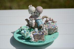 Precious Moments Figurine Spring Tea Party Set for Sale in Miami, FL