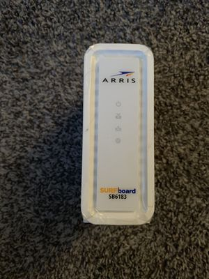 Arris Surfboard SB6183 Cable Modem for Sale in Tempe, AZ