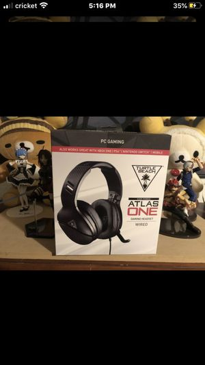 Turtle Beach Atlas Gaming Headset for Sale in Moreno Valley, CA