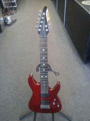 Schecter C-7 Diamond Series seven 7 string electric guitar with Duncan design pickups for Sale in Charlotte, NC