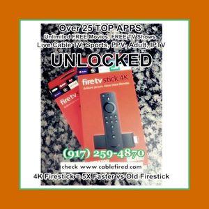 Fire TV stick 4k for Sale in Hoboken, NY