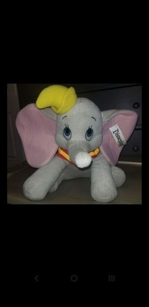 """Disney's Dumbo Plushie 15""""(Preowned) for Sale in Colton, CA"""