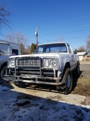 78 dodge w150 400 4 speed for Sale in Ellensburg, WA
