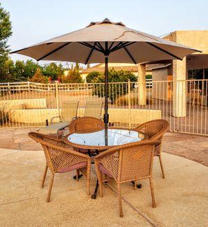Patio Set with Umbrella for Sale in Queen Creek, AZ