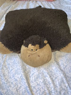 """Pillow pets my silly monkey - large, brown 18"""" stuffed animal plush toy for Sale in San Diego, CA"""