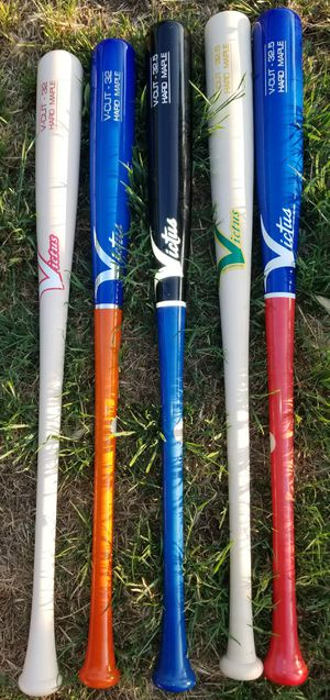 """Brand New Victus Pro Model Hard Maple Ink Dot Wood Baseball Bats 32"""", 32.5"""" What Color You Like. for Sale in West Covina, CA"""