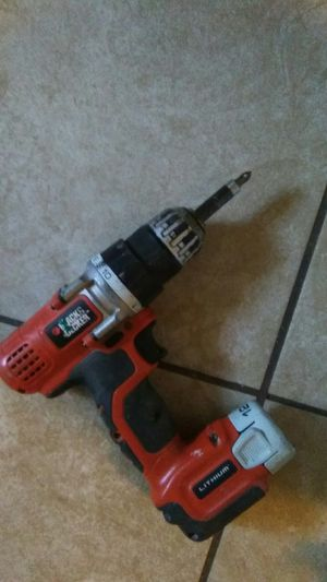 Black and Decker power drill for Sale in Pomona, CA
