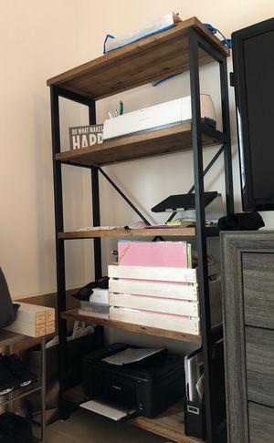 """Rustic wood book shelf 68"""" H x 33"""" W x 13"""" D for Sale in Miami, FL"""