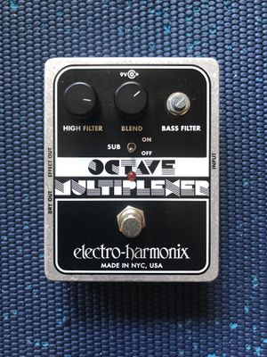 Octave Multiplexer guitar pedal for Sale in Los Angeles, CA