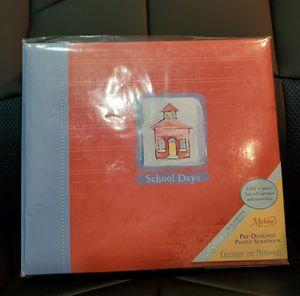 Predesigned School Days Scrapbook for Sale in Highland, CA