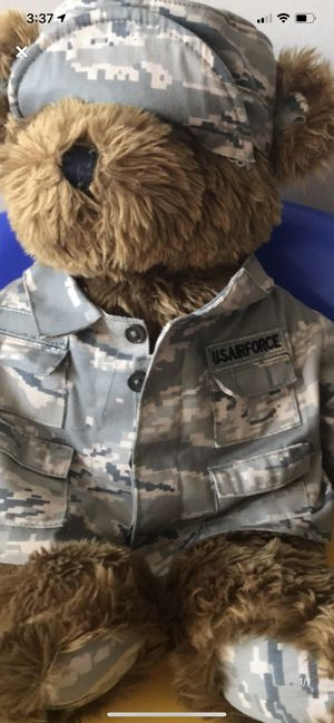 Air Force teddy bear for Sale in Camden Wyoming, DE