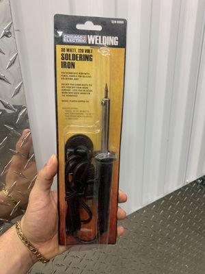 chicago electric welding soldering iron 30 watt 120v for Sale in Miami, FL