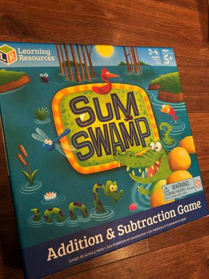 New sum swamp game by learning resources - preschool - 2 to 4 players for Sale in AZ, US
