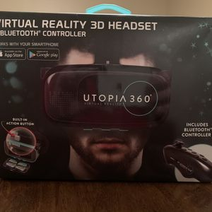 UTOPIA 360 Virtual Reality 3D Headset for Sale in Goodyear, AZ