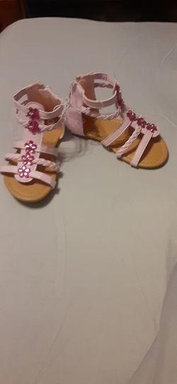 Pink little girls shoes for Sale in Jones,  AL