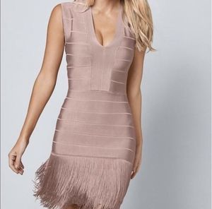 Venus Bandage Fringe Dress pink size 2 for Sale in Las Vegas, NV
