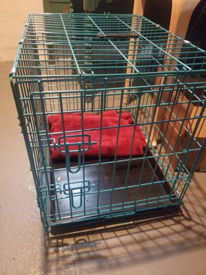 New dog crate beautiful blue for Sale in Willowick, OH