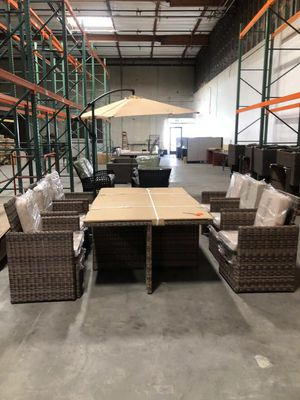 11 set outdoor dining table—-on sale!!! for Sale in Fremont, CA