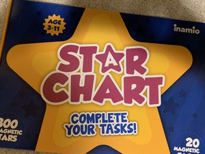 Star Chart - Complete Your Tasks for Sale in Whittier, CA
