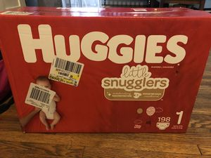 Huggies Diapers size 1 for Sale in Florissant, MO