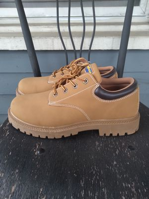 *NEW* Goodyear Tan Boots Men's size 11 and 9.5 for Sale in Winston-Salem, NC