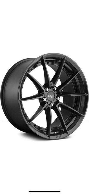 Niche sector m196 rims and tires for Sale in Santa Monica, CA