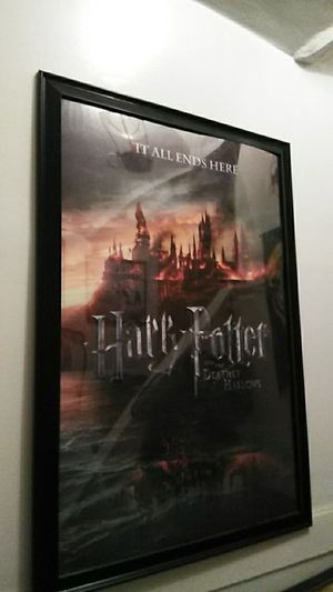 Large framed Harry Potter poster for Sale in Rochester, NY