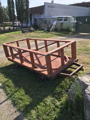 Steel Cart / Truck Camper Stand for Sale in Seattle, WA